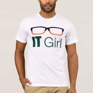 Arrow   IT Girl Glasses Graphic T-Shirt