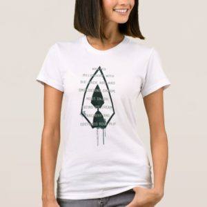 Arrow | Green Arrow Parody Wanted Post T-Shirt