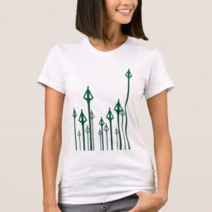 Arrow   Vertical Arrows Graphic T-Shirt