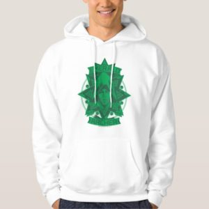 Arrow | Emerald Archer Graphic Hoodie