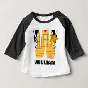 W is for Woody | Add Your Name Baby T-Shirt