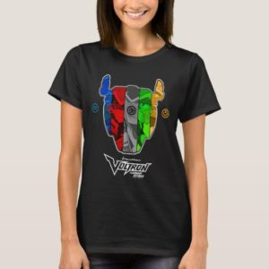 Voltron   Pilots In Voltron Head T-Shirt