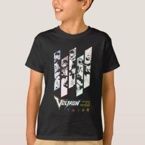 Voltron   Classic Pilots Halftone Panels T-Shirt