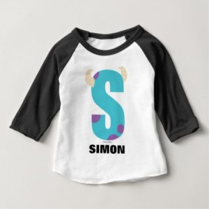 S is for Sulley | Add Your Name Baby T-Shirt