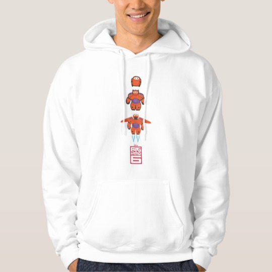 Baymax Orange Super Suit Hoodie