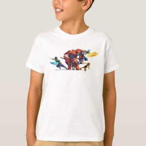 Big Hero 6 Superheros T-Shirt