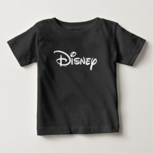 Disney White Logo Baby T-Shirt