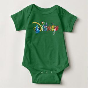 Disney Logo   Boy Characters Baby Bodysuit