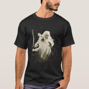 GANDALF™ with Sword Vector Collage T-Shirt