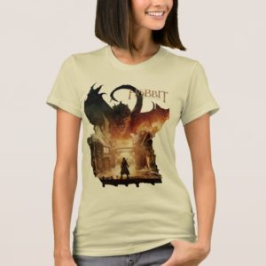 The Hobbit - Laketown Movie Poster T-Shirt