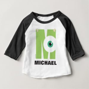 M is for Mike | Add Your Name Baby T-Shirt