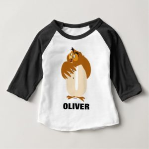 O is for Owl | Add Your Name Baby T-Shirt
