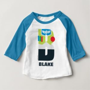 B is for Buzz | Add Your Name Baby T-Shirt