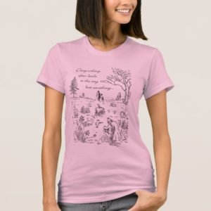 Pooh & Pals | The Very Best Something Quote T-Shirt