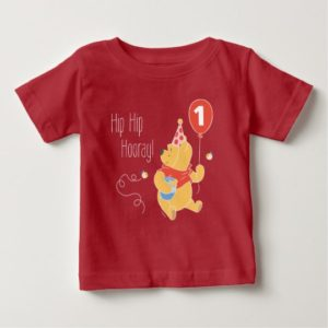 Winnie the Pooh | Baby Girl - First Birthday Baby T-Shirt