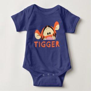 Winnie the Pooh | Peek-a-Boo Tigger Baby Bodysuit