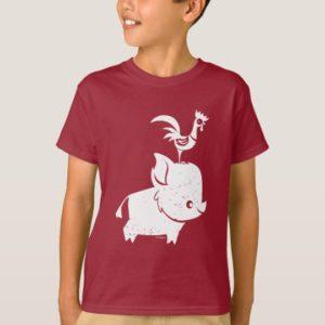 Moana | Pua & Heihei - Silhouette T-Shirt