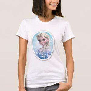 Elsa | Snowflake Frame T-Shirt