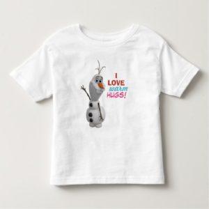 Olaf | I Love Warm Hugs Toddler T-shirt