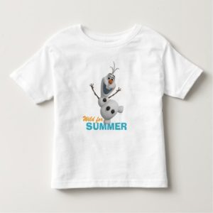 Olaf   Wild for Summer Toddler T-shirt