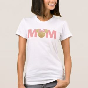 Minnie Mouse | Gold & Pink - Mom T-Shirt