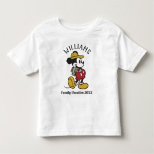 Mickey Mouse| Outdoor Mickey Toddler T-shirt