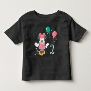 Minnie Mouse Chalkboard Birthday Toddler T-shirt