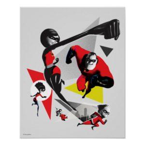 Incredibles 2 | Battling Villainy 2 Poster