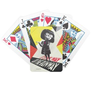 Incredibles 2 | Edna - It's My Way Bicycle Playing Cards