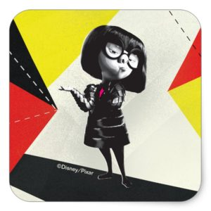 Incredibles 2 | Edna - It's My Way Square Sticker