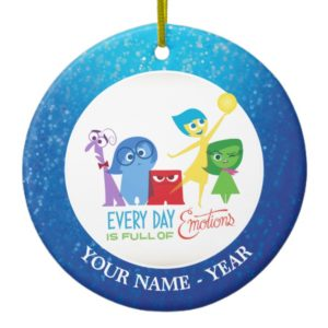 Inside Out | All Characters Add Your Name Ceramic Ornament