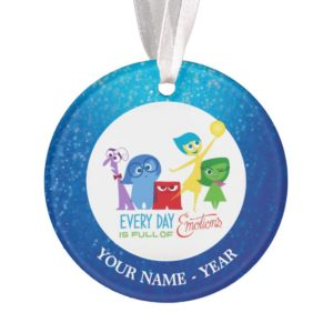 Inside Out | All Characters Add Your Name Ornament