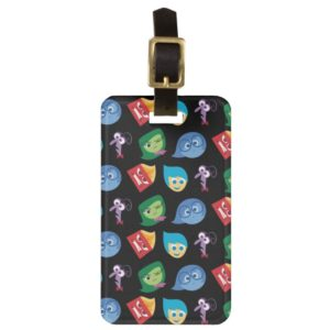 Inside Out | Character Pattern Bag Tag