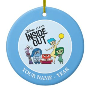 Inside Out | Characters and Inside Out Logo Ceramic Ornament