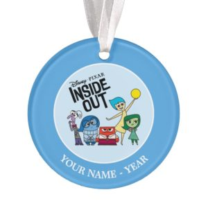 Inside Out | Characters and Inside Out Logo Ornament