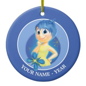 Inside Out | Joy Add Your Name 2 Ceramic Ornament
