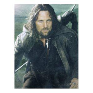 Intense Aragorn Postcard