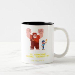 Is Someone Going Turbo Two-Tone Coffee Mug