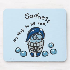 It's Okay To Be Sad Mouse Pad