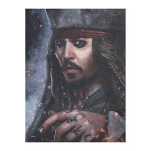 Jack Sparrow - Legendary Pirate Fleece Blanket