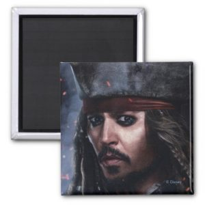 Jack Sparrow - Legendary Pirate Magnet