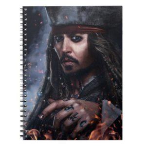 Jack Sparrow - Legendary Pirate Notebook