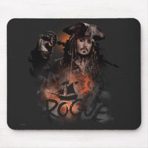 Jack Sparrow - Rogue Mouse Pad