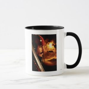 Jack Sparrow Side Face Shot Mug