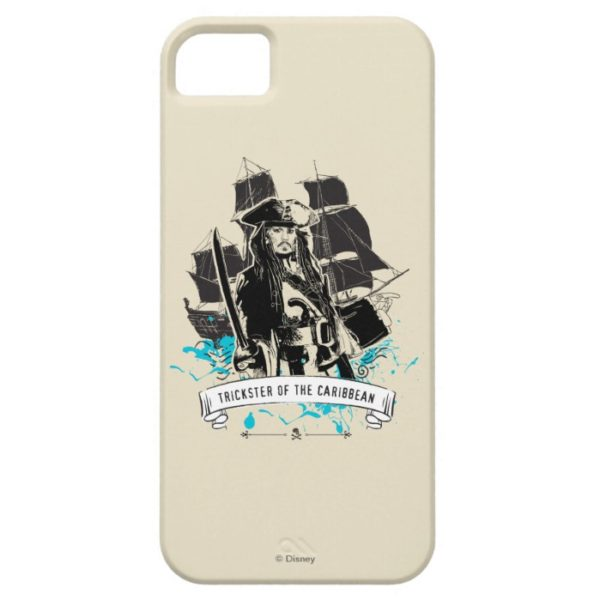 Jack Sparrow - Trickster of the Caribbean Case-Mate iPhone Case