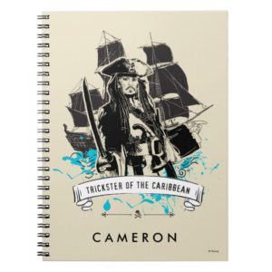 Jack Sparrow - Trickster of the Caribbean Notebook