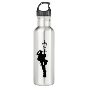 Jack the Lamplighter Silhouette Stainless Steel Water Bottle
