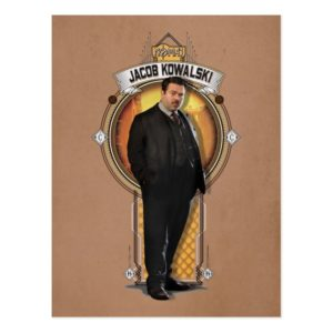 JACOB KOWALSKI™ Art Deco Panel Postcard