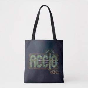 Jade Art Deco ACCIO™ Spell Graphic Tote Bag