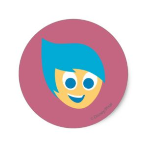 Joy Classic Round Sticker